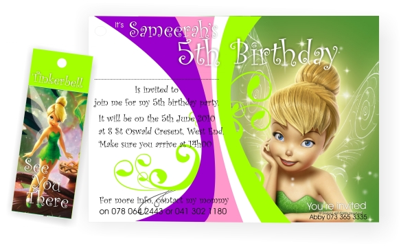 5th Birthday Party Invitation – 5th Birthday Party Invitation